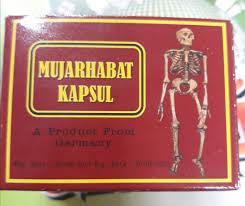 Mujarhabat Kapsul hỗ trợ điều trị xương khớp