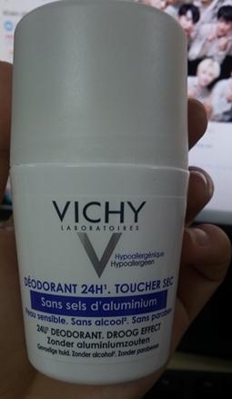 Lăn khử mùi Vichy 50ml (Pháp)- Khử mùi, diệt khuẩn 5