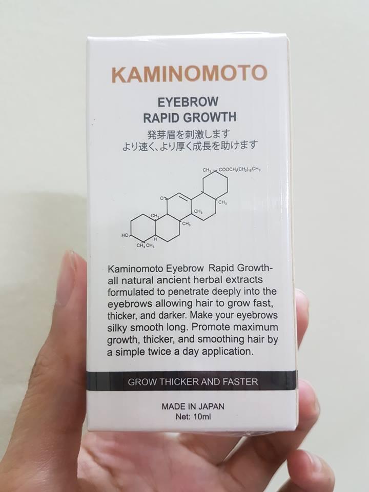 Dung Dịch Hỗ Trợ Mọc Lông Mày Kaminomoto (Nhật Bản)
