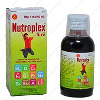 Vitamin tổng hợp Nutroplex là một trong những sản phẩm bổ sung nguồn thiếu hụt dinh dưỡng cho bé