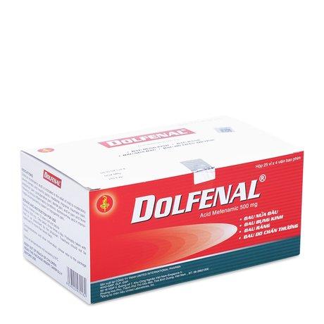Dolfenal- Trị Triệu Chứng Đau Nửa Đầu, Đau Do Chấn Thương